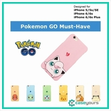 [AUG CLEARANCE] Pokemon GO iPhone 6 6s Plus Cute Hard Back Case Cover