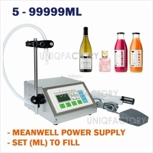 Digital Liquid Filling Machine Bottle Filler Water Juice Perfume Milk