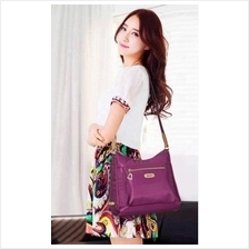 Women Lady Nylon Water Resistance Sling Shoulder Cross Body Bag