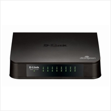 D-LINK DES-1016A 16 Port Desktop Fast Ethernet Switch 10/100MBPS