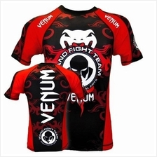 UFC MMA VENUM Compress Shirt  V1 (Baju Sport Gym) (Brazil Import)