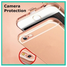 Ultra Thin iPhone 5 5s SE 6 6s 7 Plus Camera Protection Slim TPU Case