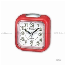 CASIO TQ-142-4 analogue wake up timer daily alarm luminous marks red