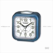 CASIO TQ-142-2 analogue wake up timer daily alarm luminous marks blue