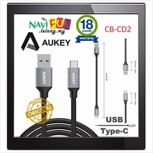 ★ Aukey Type C to USB 3.0 [CB-CD2] Cable Braided (1M)
