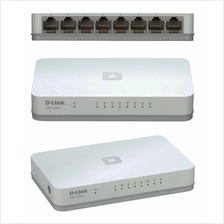 D-LINK DGS-1008A 8 Port Gigabit Desktop Network Ethernet Switch