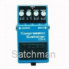 BOSS CS-3 Compression / Sustainer - Guitar Pedal -  FREE SHIPPING