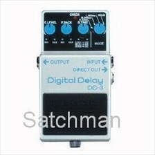 BOSS DD-3: Digital Delay Guitar Pedal -  FREE SHIPPING