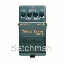 BOSS MT-2 - Metal Zone Guitar Pedal -  FREE SHIPPING