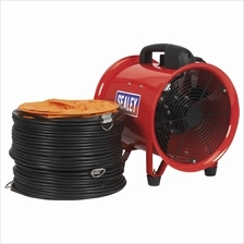 Sealey Portable Ventilator 200mm With 5 Mtr Ducting