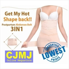 Bengkung Moden Postpartum Abdomen Belt 3 Pcs In 1 Set)