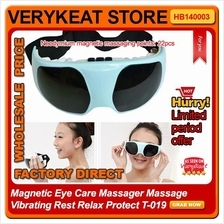 Magnetic Eye Care Massager Massage Vibrating Rest Relax Protect T-019