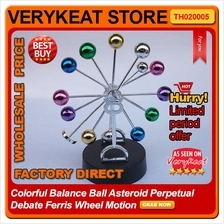 Colorful Balance Ball Asteroid Perpetual Debate Ferris Wheel Motion