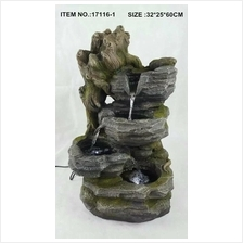WATER FOUNTAIN - 17116-1 FENG SHUI WATER FEATURE HOME DECO