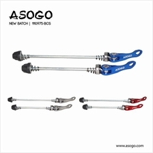 [CRONUS.MY] Asogo Alloy Hub Quick Release Front & Rear Wheel QR