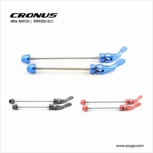 [CRONUS.MY] Hub Quick Release Front & Rear Wheel (Alloy 6061) 1399230