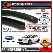 YAMUJIN DIY Sound Insulation Rubber Strip - PEUGEOUT 206/508