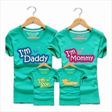 Family T Shirt Set Man + Woman (I'm Daddy Mommy Couple/ Kids Boy Girl)