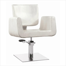 M017 Salon Hairdressing Luxurious Chair (Stainless Steel Base)