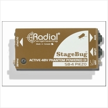 Radial Engineering StageBug SB-4 - Active Piezo DI Box -  FREE SHIP