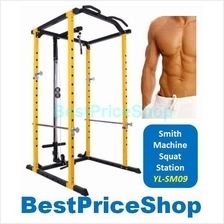 Smith Machine Workbench Squat Power Rack Station Bench Press Barbell