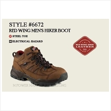 RED WING 6672 MEN'S HIKER BOOT Safety Shoes Working Shoes)