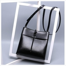 Women Genuine Leather Handbag Shoulder Sling Cross Body Bag