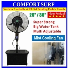 Water Mist Fan 26' 30' Atomizer Outdoor Air Cooling Industry Stand Fan