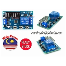 5V/12V/24V DC 3 working mode Delay on/off timer repeat 1-9999s/9999m L