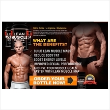 Lean Muscle Formula (HGH , Otot, Muscle,Burn Fat+Testosterone Boost)