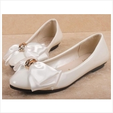 Women White / Red High Heel / Flat Shoes