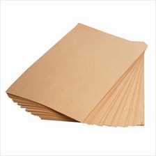 100pcs Brown Kraft Paper A4 for Printing and Craft 150gsm