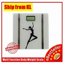 Multi Function High Precision Health Digital Body Fat Analyzer Scale
