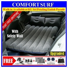 Car Back Seat Inflatable Air Bed Mattress Pillow Travel Camping Sleep