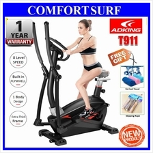 Magnectic Elliptical Cross Trainer Twister Cardio Exercise Space Bike