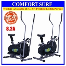 Elliptical Cross Trainer Cardio & Fitness Body Workout Exercise Bike