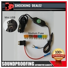 Medium Fuse Tap Adapter With DC12V to 5V 1.5A Converter Mini USB Power