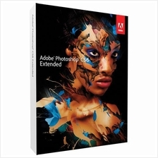ORIGINAL Windows/MAC Adobe Photoshop CS6 Extended Medialess