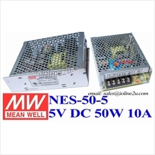 Mean Well NES-50-5 5V 10A 50W switching power supply meanwell PSU Industrial G