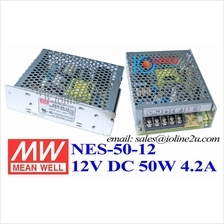 Mean Well NES-50-12 12V 4.2A 50W switching power supply meanwell PSU Taiwan In
