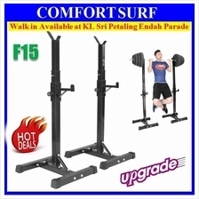 250KG Heavy Duty Weightlifting Bench Press Barbell Stand Squat Rack