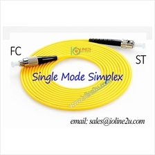 3m ST-FC SM Single Mode fiber optic cable patch cord for CCTV LAN FTTH Simplex