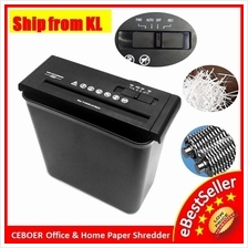 Ceboer Mini Office 6.8mm Confidential Paper Shredder Cutter