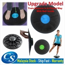 360° Rotation Wobble Massage Fitness Yoga Balance Board Exercise