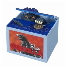 New Godzilla Movie Musical Monster Moving Electronic Steal Coin Money