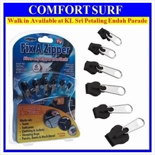 6pcs Fix A Zipper Rescue Broken Slider Instant Repair Kit Replacement