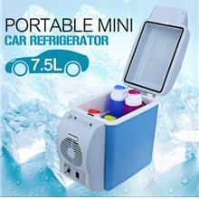 7.5L Portable Car Electronic Cooling  & Warming Refrigerator Fridge