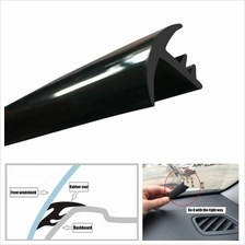 Dashboard Rubber Seal Instrument Sound Insulation T Type 1.6 Meter