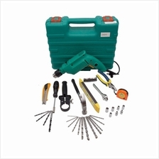 DCA AZJ04-13 Electric Impact Drill with Tool Kit
