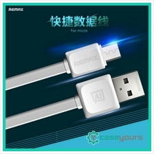 Remax Micro USB Data Sync Flat 2.1A Charging USB Cable